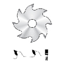 1300 Special circular saw blades for the machine ELU 140