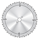 990 Saw blade with chip thickness limitation